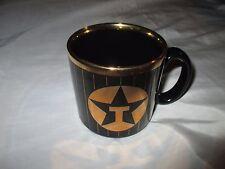 Texaco Petroleum Gasoline Tams Staffordshire England Black Gold 250ml Coffee Mug