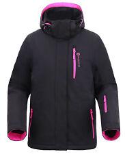 Women's Winter Ski Waterproof Snow Windproof Outdoor Sports Hiking Jacket Coat
