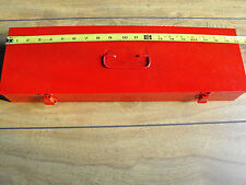 Tool Box, Red 2 1/2 x 5 7/8 x 19 7/8 inside NEW Made in U.S.A.