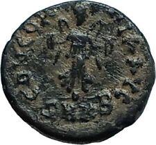 THEODOSIUS II 425AD Cyzicus Authentic Ancient Roman Coin VICTORY FACING i66383