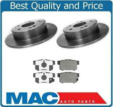 Honda Accord 2&4 Door V6 Acura RSX (2) Brakes Disc Rotors & Ceramic Pads