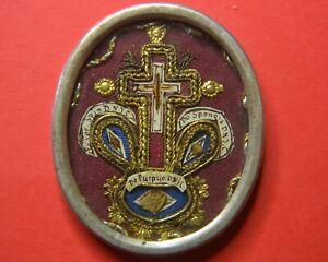 shrine  RELICARIO   relic  RELIQUARY TRUE CROSS D.N.J.C. + PASSION RELIC D.N.J.