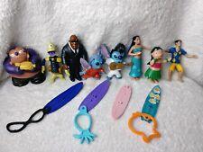 McDonalds Happy Meal Toy Lilo & Stitch Bobble Toys Disney Lot Kids Toys 12 Piece