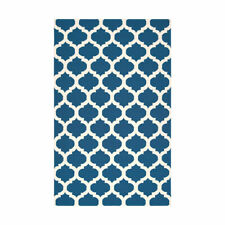 Surya FT84 Frontier 96 X 60 inch Blue and Neutral Handmade Area Rug Wool 5' x 8'
