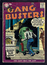 1957 DC Gang Busters #57 GD
