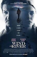 "Wind River movie poster  - 11"" x 17"" inches - Jeremy Renner, Elizabeth Olsen"