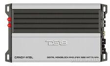 DS18 CANDY-X1SL 1800 WATT MONOBLOCK CAR AMPLIFIER MONO COMPACT MINI SILVER AMP
