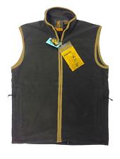Browning Windsor Fleece Vest Gilet Waistcoat Black Hunting Shooting Fishing