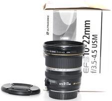 Canon EF-S 10-22 mm F/3.5-4.5 USM Weitwinkel Objektiv TOP *15