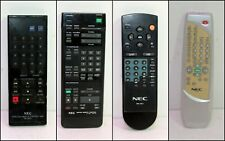 4x NEC TV & Video Tape Remote Controls (Price for each)