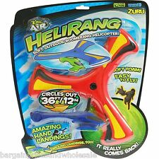 Helirang Boomerang Helicopter Circles out 36ft Soft Outdoor toy Yard Park Toy