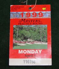 1999 MASTERS GOLF Ticket Augusta National Jose Maria Olazabal Wins