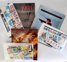 USPS American Commemorative Stamp Collection 1991-1993 & 1991 Definitive Packet