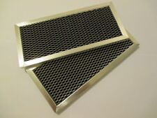 2 Filters Genuine Samsung DE63-00367H Microwave Charcoal Filter 4 x 8 9/16""