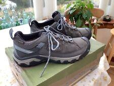 Keen Targhee III Women's Walking / Hiking Shoes Black / Olive Size 7UK VGC