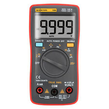 Multimeter Digital meter True-RMS 9999 Counts Wave Squared AC DC Volt To Ohm