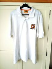 Hull City Polo Shirt. XXL. Official Merchandise. White Adults Football Top 2XL.