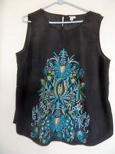 Merona womens size XXL tank top  sleeveless Black