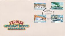 (K59-3) 1979 AU FDC $1.60 Ferries Murray river steamers (C)