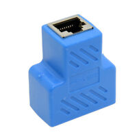 Network Splitter Ethernet Cable 1 to 2 Y Adapter RJ45 CAT5e CAT 6 LAN Switch