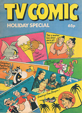 RARE TV COMIC HOLIDAY SPECIAL 1984 - LAUREL & HARDY, CATWEAZLE & MORE - A-TEAM +
