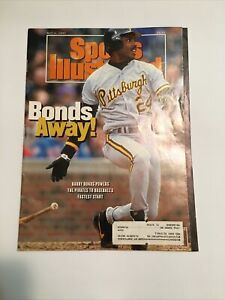 Barry Bonds/Pirates-Sports Illustrated(FIRST COVER)