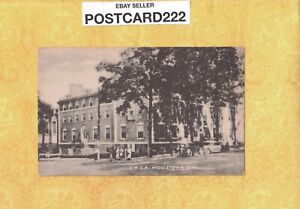 CT Middletown 1908-39 vintage postcard YMCA Building Young mens Christian