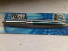 Papermate Profile Ballpoint Pen Teal Not Slim New  In Pack