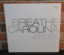 BREATHE CAROLINA - It's Classy, Not Classic LP, HALF GREY/HALF CLEAR W/ SPLATTER