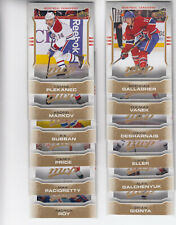 14/15 UD MVP Montreal Canadiens Team Set with SPs - Roy Vanek +