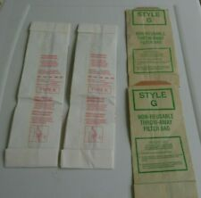 Vintage Vacuum Cleaner Bags  Opened Type K And Style G