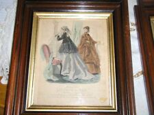 Antique Victorian Petit Courrier des Dames Modes of Paris 1800-1899 Lithograph 2
