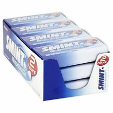 Smint Peppermint Mints Clean Breath Sugar Free Intense Mint Sweets 12 Tins Pack