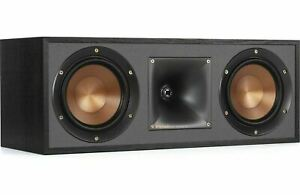 Klipsch R-52C Center Channel Home Speaker - Black