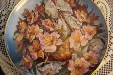 "Franklin Mint -Princess Grace of Monaco Collector Plate ""Gracia Alstroemeteria """