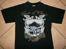 TASTE OF CHAOS 2006 CONCERT TOUR T SHIRT Deftones Thrice Atreyu Adair Dredg SM