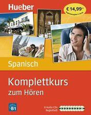 Komplettkurs Spanisch zum Hören von Hildegard Rudolph und José Antonio Panero (2012)