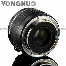 Yongnuo YN-2.0X II Teleconverter Auto Focus Mount Lens for Canon EOS EF Lens
