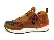 2013 Nike Zoom Revis TXT EXT SZ 9.5 Ale Brown Leather Camo Orange QS 599450-200