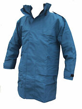 "Goretex Rain coat Jacket RAF Blue XL 190/110 44""chest - Long NO HOOD G3877"