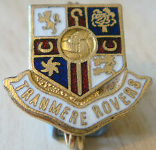 TRANMERE ROVERS Vintage badge Maker COFFER LONDON Brooch pin Gilt 23mm x 21mm