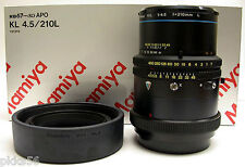 Mamiya RB PRO SD KL APO 210mm/4.5 LENS (( FIT for RZ, RZ PRO II, RZ PRO IID )))