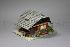 O813 Ancienne Maquette train Faller Ho années 50 N° 283 Chalet montagne maison