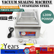 120W Digital Vacuum Packing Sealing Machine Sealer Kitchen Storage Packing 110V