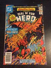 """Adventure Comics Presents Dial""""H"""" For Hero#486 Incredible Condition 9.0(1981)"""