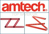 Amtech Multi-Angle Precision or Folding 1M Ruler Handy Easy To Use Tool