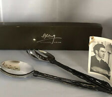 Michael Aram Gilded Twig Serving Set, New in Box