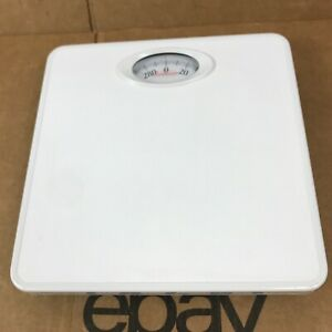 SUNBEAM SAB700DQ1-01 Scale Accurate to 300lbs Compact White