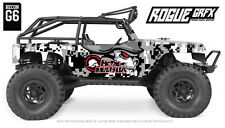 Axial G6 Wrangler Jeep Body Graphic Wrap Skin- Metal Mulisha