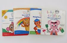BABY EINSTEIN ~ BOARD BOOK VARIETY OF TITLES ~ YOU CHOOSE 1 or ALL ~ 1+ SHIP